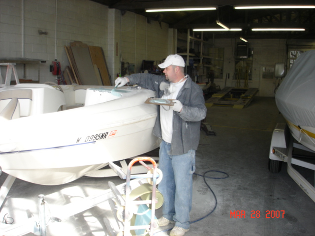 Finish Craft Auto & Boat Collision - Boat Fiberglass Gel
